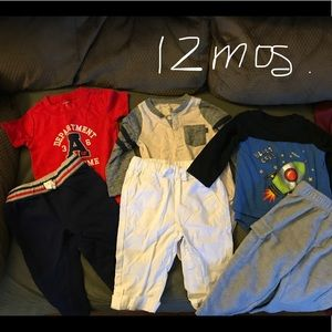 Other - 3/12 Month Baby Boy Outfits